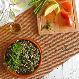 Middle Eastern Tabbouleh Salad