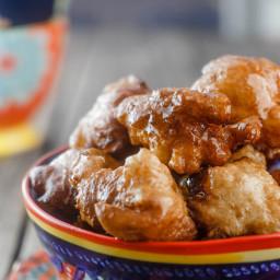 Middle Eastern Vegan Donuts (Zalabia)