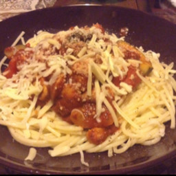 Midweek Spaghetti with a Passata and Vegetable Sauce