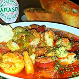 Mike's Shrimp Creole In Bayou Swamp Sauce