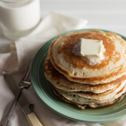 Mile-High Buttermilk Pancakes