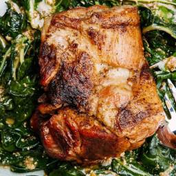 Milk-Braised Pork With Lemon and Sage