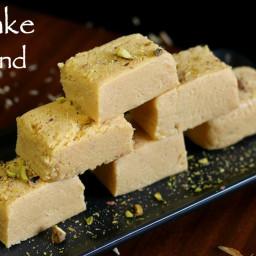 milk cake recipe | milk cake kalakand sweet recipe | milk cake mithai