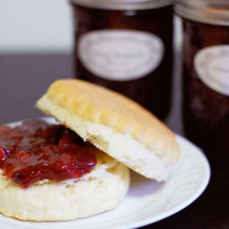 Millionaire's Cherry Rhubarb Jam Recipe