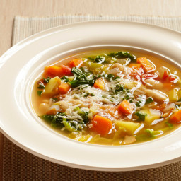 Minestrone With Parmigiano-Reggiano