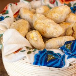 Mini Bolillos with Spicy Cream Cheese