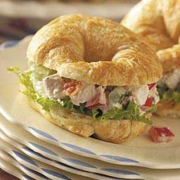 Mini Chicken Salad Croissants Recipe