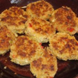 Mini Crab Cakes Recipe {Freezer Meal}