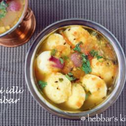 mini idli sambar | tiffin idli sambar | bullet idli sambar