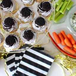 Mini Oreo Cupcakes