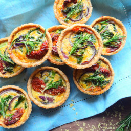 Mini Quiche Tarts