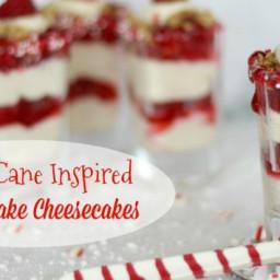 Mini Raspberry Cheesecake Shooters