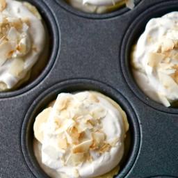 Mini Vegan Coconut Banana Cream Pies