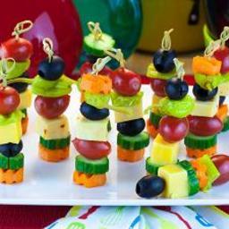 Mini Veggie Kabobs