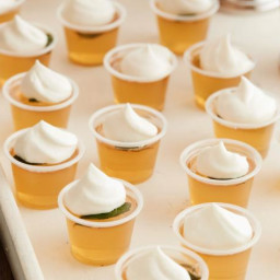 Mint Julep Jelly Shots