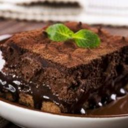 Mint Chocolate Dump Cake