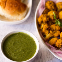 mint chutney or pudina chutney for tandoori recipes