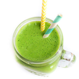 Minty Green Protein Smoothie