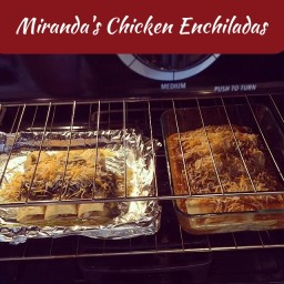 Miranda's Chicken Enchiladas