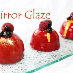 Mirror Glaze Recipe ~ Gelatin Version