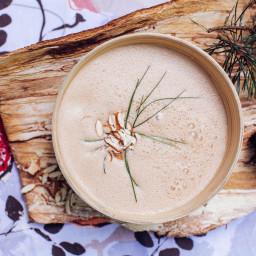 Miso Mushroom Seaweed Soup