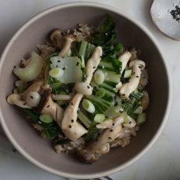 Miso Mushroom Stir-Fry