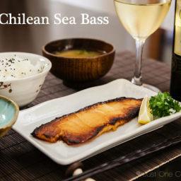 Miso Sea Bass
