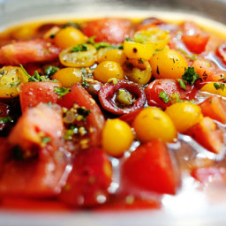 Missy's Marinated Tomatoes