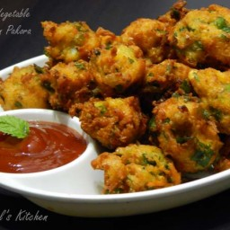 Mix Vegetable Corn Pakora