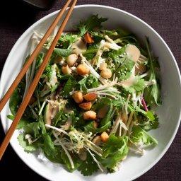 Mixed Asian Salad with Macadamia Nuts