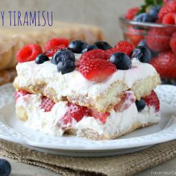 Mixed Berry Tiramisu