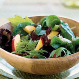 Mixed Greens and Nectarine Salad