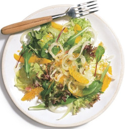 Mixed Greens with Tangerines and Fennel