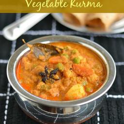 Mixed Vegetable Kurma Recipe