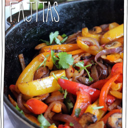Mixed Vegetables Fajitas