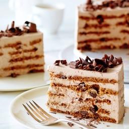 Mocha Chocolate Icebox Cake