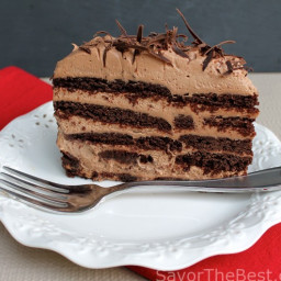 Mocha-Chocolate Icebox Cake
