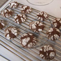 Mocha Crackle Cookies