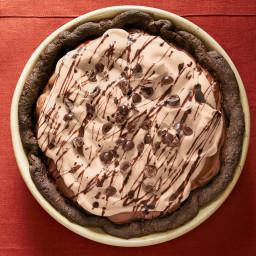 Mocha Mousse Pie
