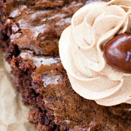 Mocha Nut Brownies