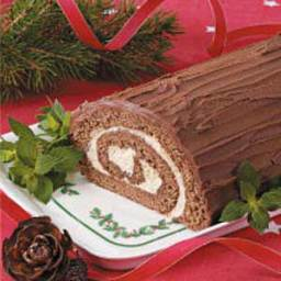 Mocha Yule Log Recipe