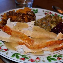 Moist and Tender Turkey (Or Turkey Breast)