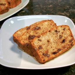Moist Chocolate-Chip Banana Bread