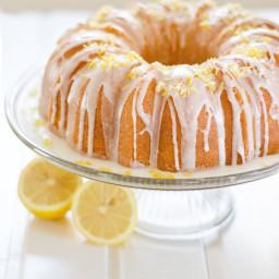 Moist Lemon Bundt Cake