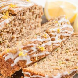 Moist Lemon Zucchini Bread