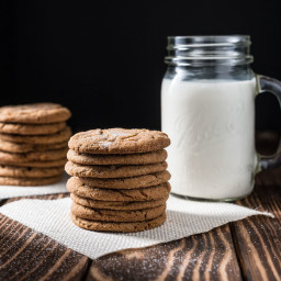 Molasses Soft Sugar Cookies