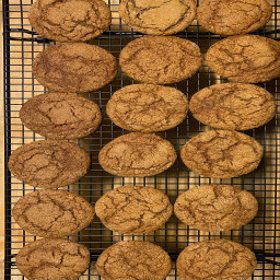 Molasses Sugar Cookies
