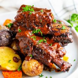 Mole Braised Beef Short Ribs
