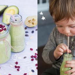 'Mommy & Baby' Avocado and Spinach Smoothie