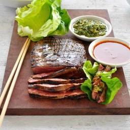 Momofuku Marinated Beef Skirt Steak Ssam